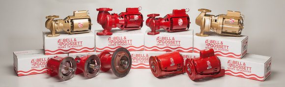 Bell & Gossett booster pumps