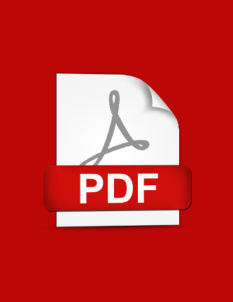 Adobe Acrobat logo on a PDF document